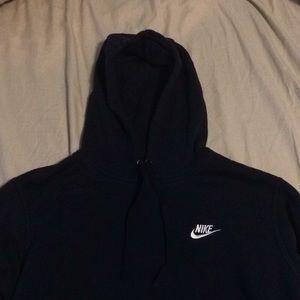 Navy blue nike hoodie